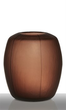 Ваза Carved Brown H23,5 D20,5 - фото 8284